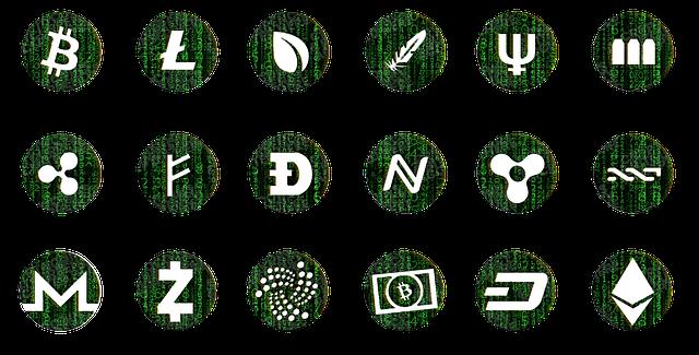 loga kryptoměn