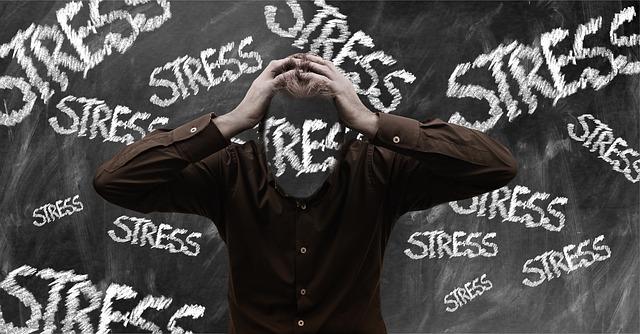 všude stres