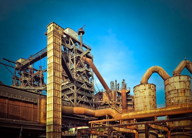 ilustrační obrázek továrny