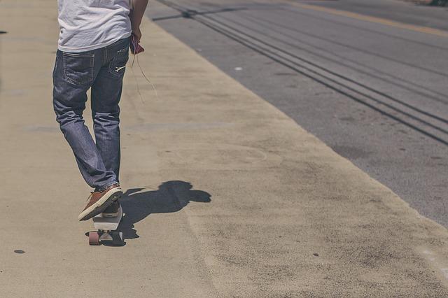 Doprava na skateboardu